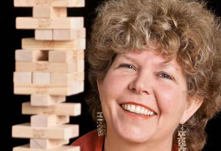 Interview: Leslie Scott, Inventor of the Jenga on Got Invention Radio