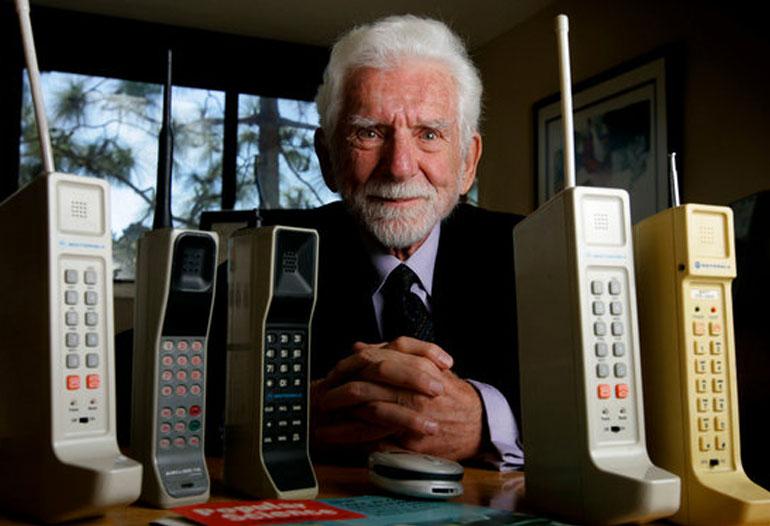 Interview: Martin Cooper Inventor of the Cell Phone Entrepreneur Futuriston Got Invention Radio